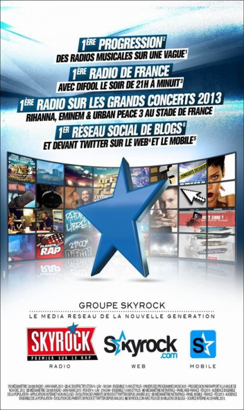 GROUPE SKYROCK - Le mdia rseau de la nouvelle gnration